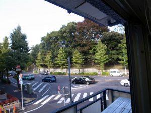 奥渋!貸事務所!窓から代々木公園見えます!