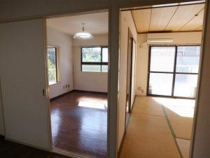 洋室から代々木公園の緑が見えます!賃貸マンション2DK!