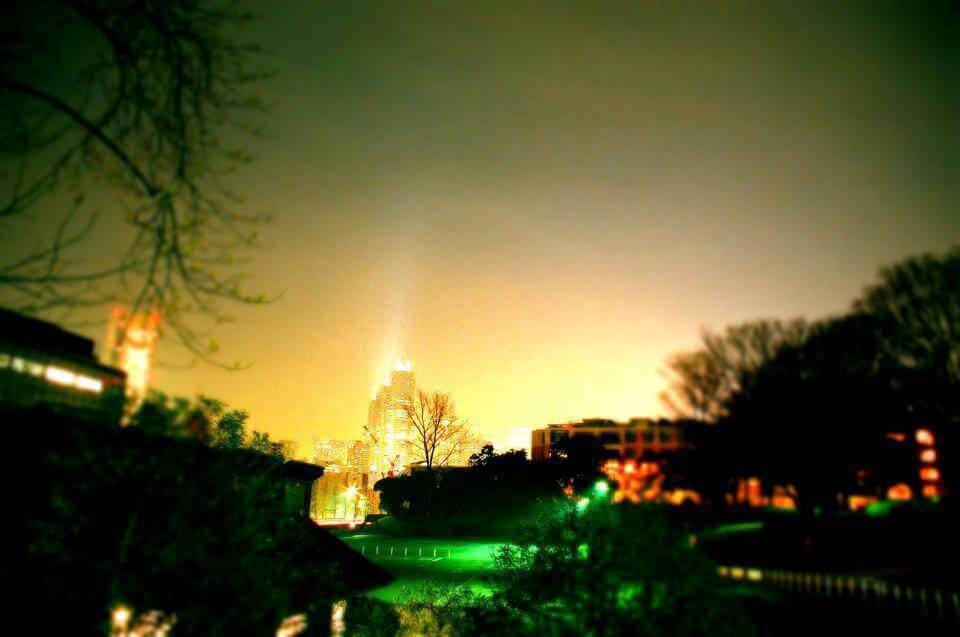 代々木公園からの夜景