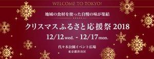 渋谷代々木公園/クリスマスふるさと応援祭2018