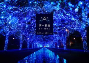 渋谷代々木公園「青の洞窟 SHIBUYA2018」