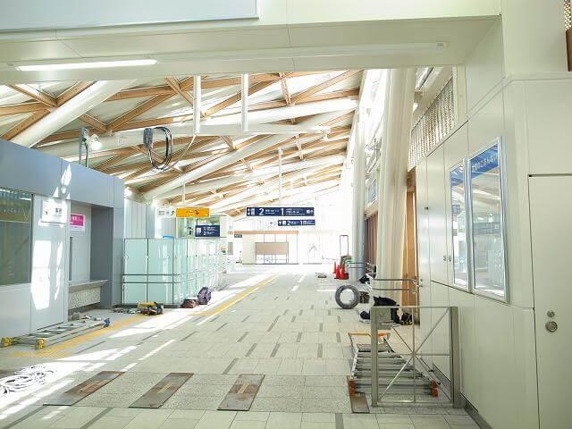 代々木八幡駅駅舎