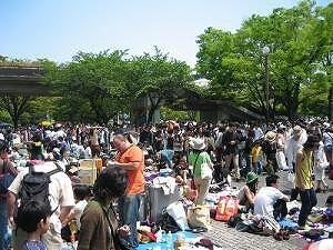 渋谷/代々木公園フリーマーケット2020年2月