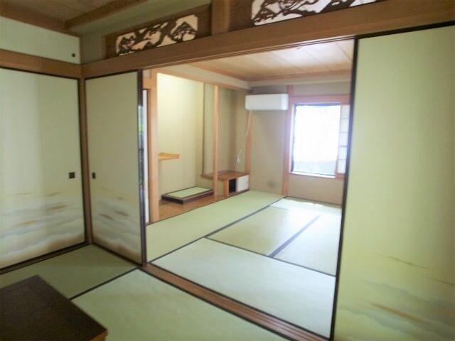 和室の醸し出す空間。代々木上原賃貸マンション