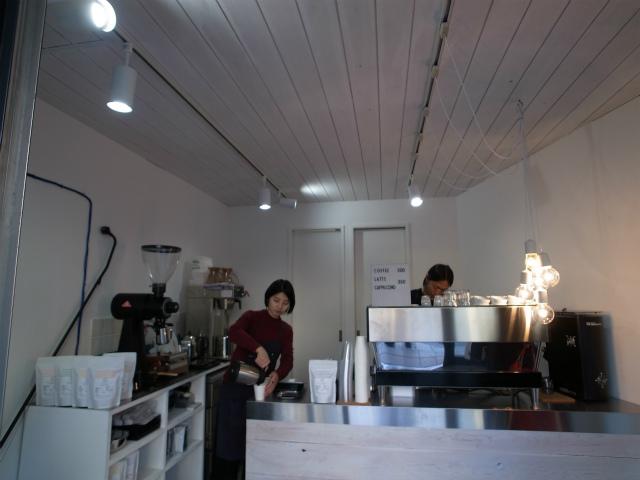 Switch Coffee Tokyo 内部